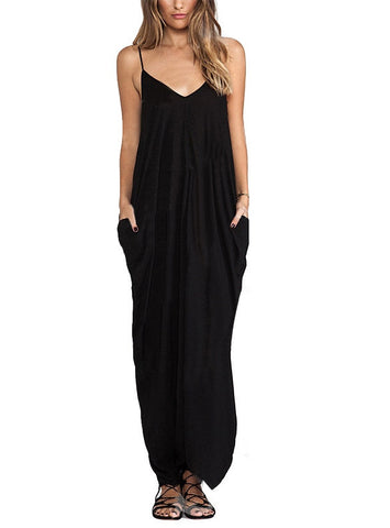 My Imagination Beach Casual Maxi Dress - Miracles Fashion Boutique