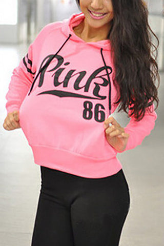 Pink 86 Sweat Shirt - Miracles Fashion Boutique