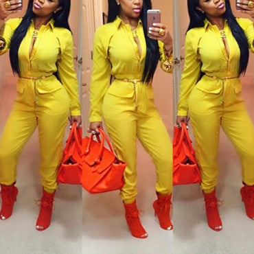 Queen In Charge Jumpsuit - Miracles Fashion Boutique