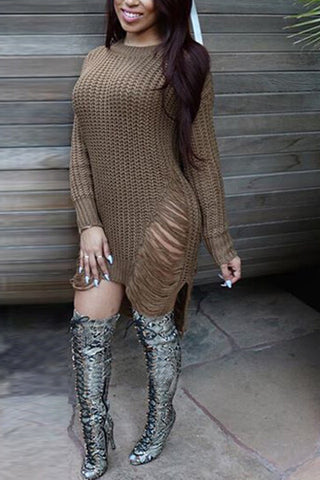 Every Sweet Thing Sweater Dress - Miracles Fashion Boutique