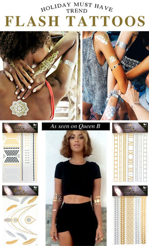 FLASH TATTOOS INSPIRED BY BEYONCE - Miracles Fashion Boutique