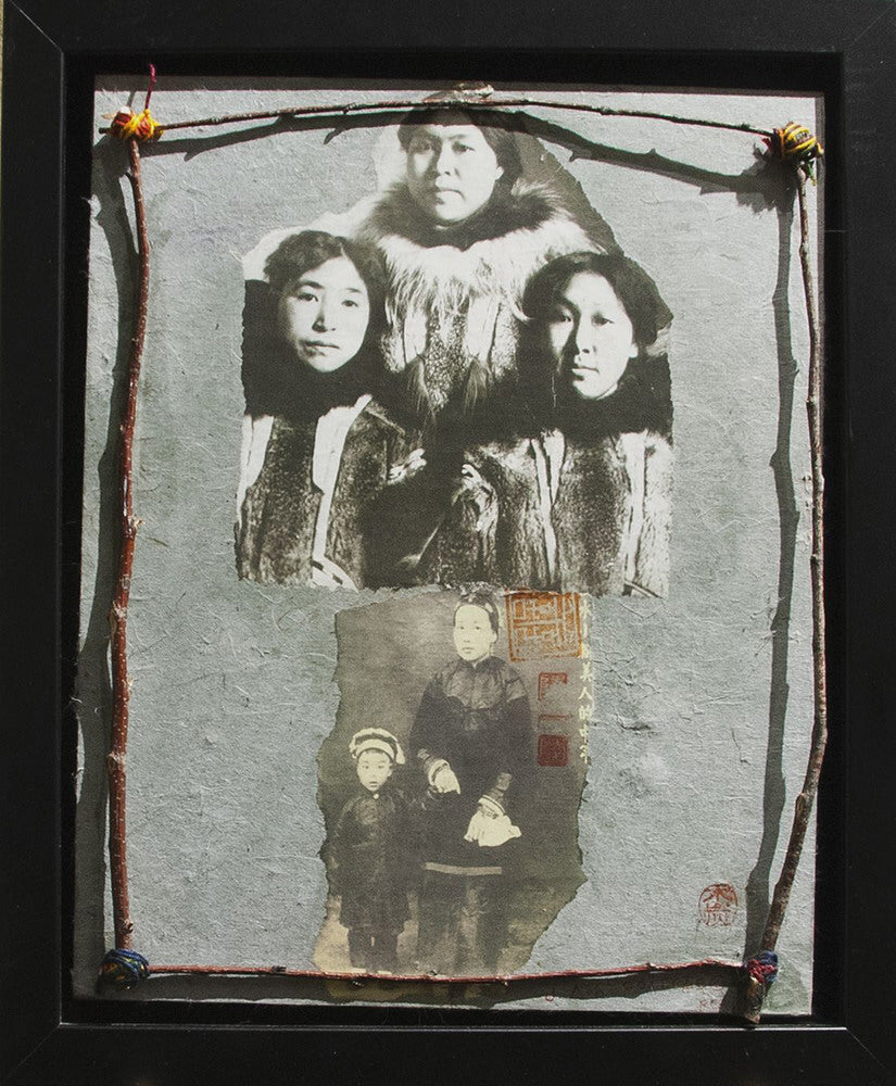 Jane Ash Poitras artwork 'WE ARE ALL RELATED   2015' available at Canada House Gallery - Banff, Alberta
