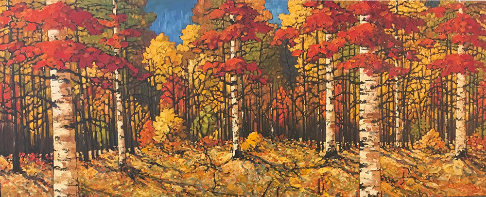 Rod Charlesworth artwork 'OCTOBER'S GIFT' available at Canada House Gallery - Banff, Alberta