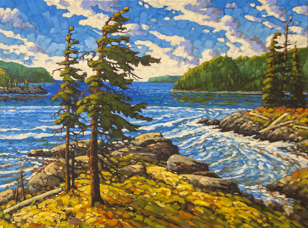 Rod Charlesworth artwork 'PACIFIC RIM WATERS' available at Canada House Gallery - Banff, Alberta