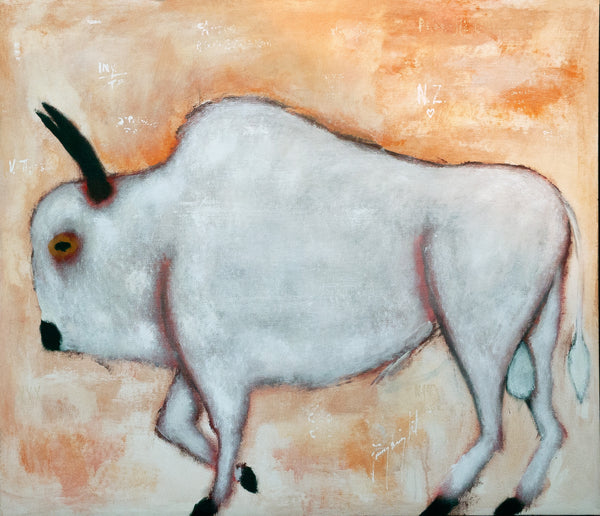 Jimmy Wright artwork 'UNTITLED - TAURUS' available at Canada House Gallery - Banff, Alberta