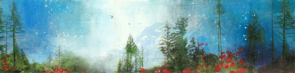 Steven Nederveen artwork 'MIGRATION HOME' available at Canada House Gallery - Banff, Alberta