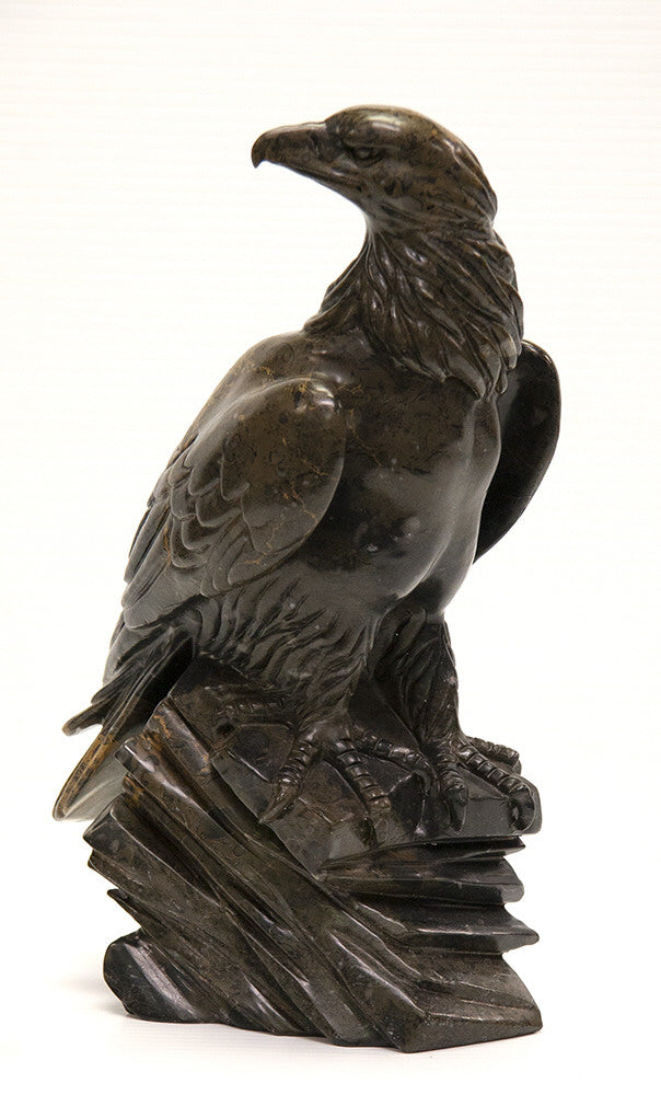 Ken Q Li artwork 'EAGLE' available at Canada House Gallery - Banff, Alberta