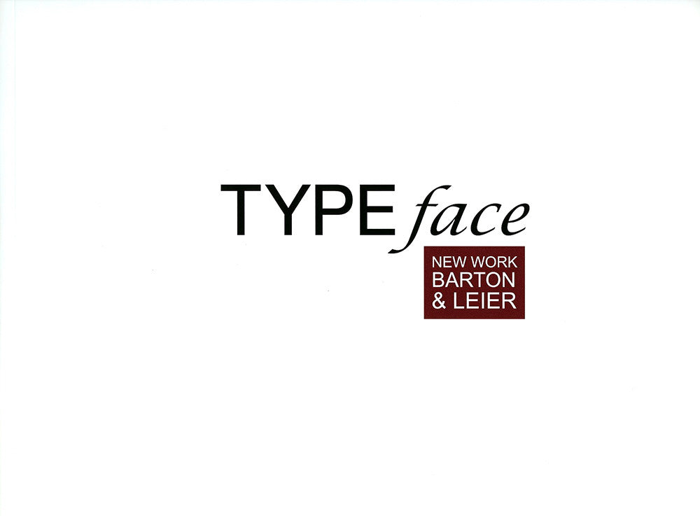 Grant Leier artwork 'TYPEFACE, 2009 (32 PAGES)' available at Canada House Gallery - Banff, Alberta