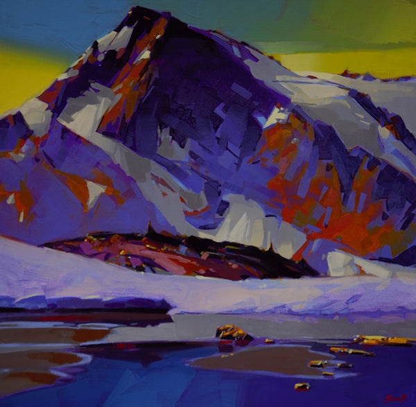 Mike Svob artwork 'STILL WATERS' available at Canada House Gallery - Banff, Alberta