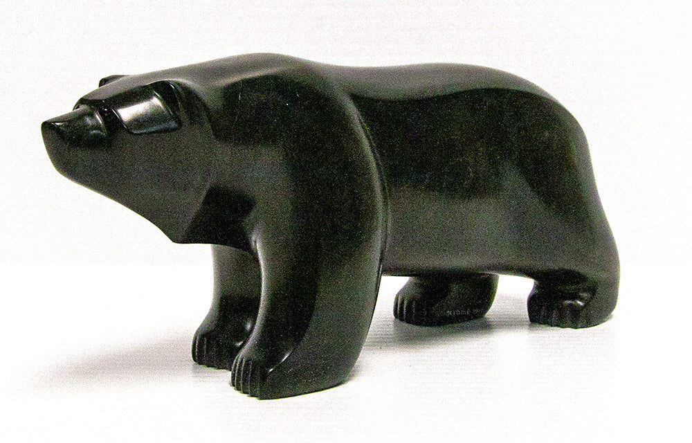 David Riome artwork 'BEAR' available at Canada House Gallery - Banff, Alberta