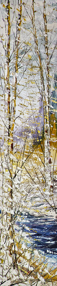 André Pleau artwork 'PLAISIR HIVERNAL' available at Canada House Gallery - Banff, Alberta