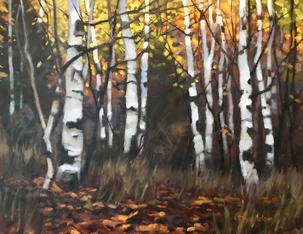 Gaye Adams artwork 'AUTUMN KALEIDOSCOPE' available at Canada House Gallery - Banff, Alberta