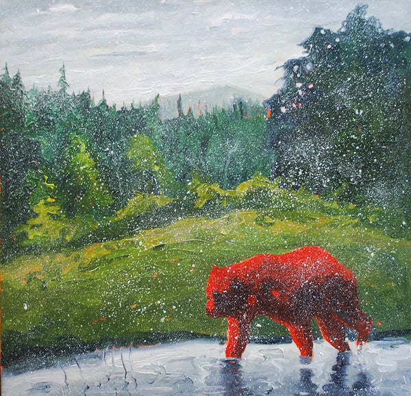 Michael Cameron artwork 'MOOSE MEADOWS' available at Canada House Gallery - Banff, Alberta