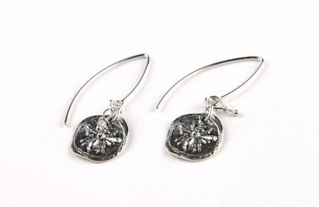 LULU B Designs artwork 'BEE EARRINGS' available at Canada House Gallery - Banff, Alberta