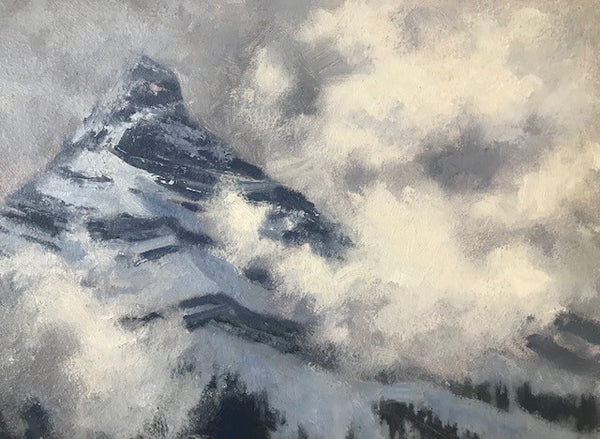 Gaye Adams artwork 'BREAKING UP' available at Canada House Gallery - Banff, Alberta