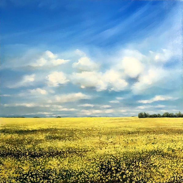 Richard Cole artwork 'CANOLA' available at Canada House Gallery - Banff, Alberta