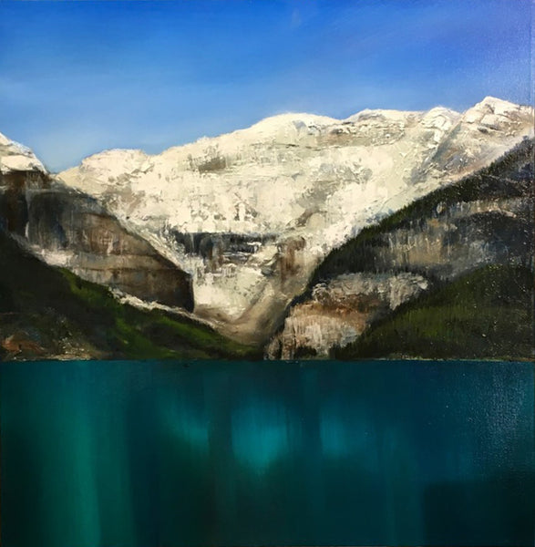 Richard Cole artwork 'MOUNTAIN INSPIRATION' available at Canada House Gallery - Banff, Alberta