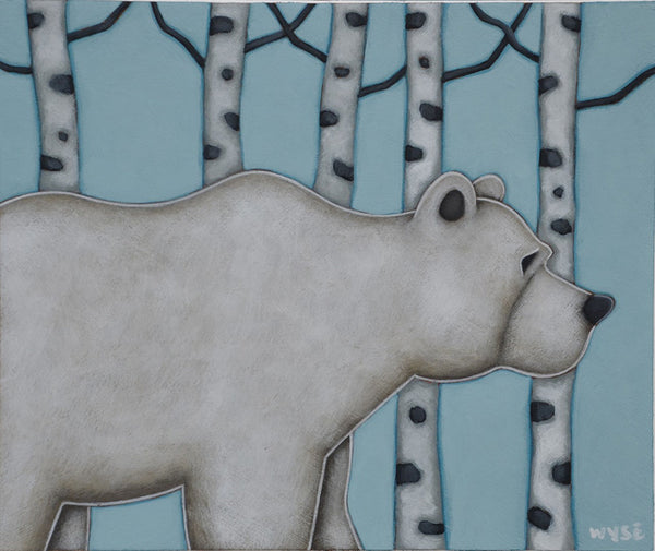 Peter Wyse artwork 'THE BEAR' available at Canada House Gallery - Banff, Alberta