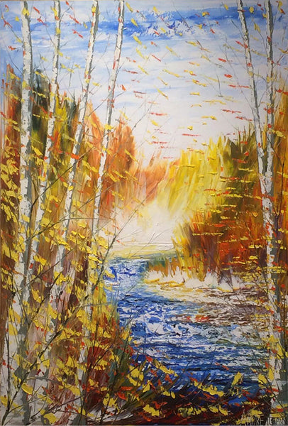 André Pleau artwork 'POUR L'AVENTURIER' available at Canada House Gallery - Banff, Alberta