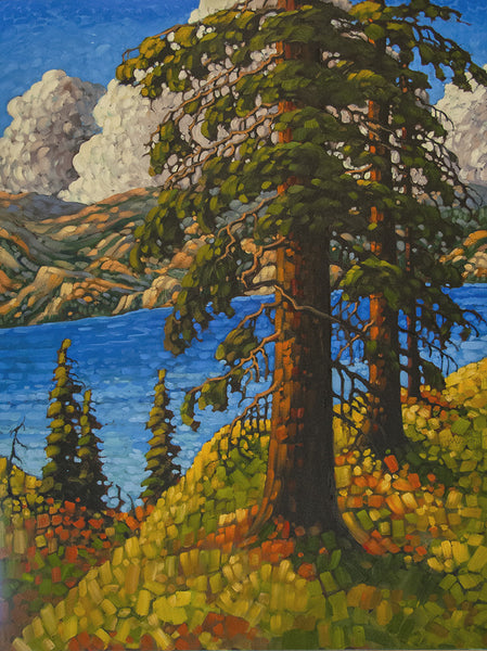 Rod Charlesworth artwork 'OKANAGAN, SEPTEMBER' available at Canada House Gallery - Banff, Alberta