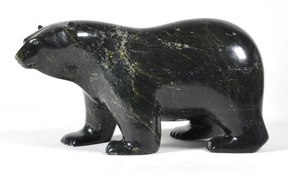 Ashevak Adla artwork 'BEAR' available at Canada House Gallery - Banff, Alberta