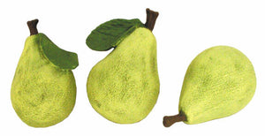 "#1047 Small Fruit - Pears  3"" (3 in mold)"