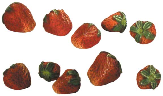 #1050 Small Fruit - Strawberries  1-2