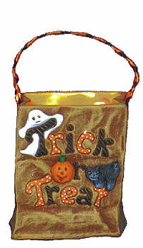 #1054 Trick Or Treat Bag  3 1-2