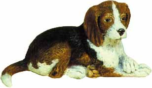 #1714 Small Dog - Beagle  4 1-2