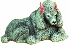 #1716 Small Dog - Poodle  4 1-2