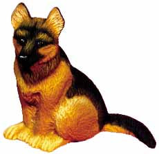 #1741 Small Dog - German Shepherd  4