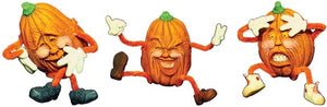 "#1803 Pumpkins with Attitude (3 in mold)  3"" each"