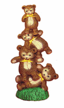 #1875 Stack of Teddy Bears  7