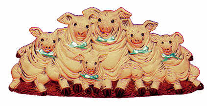 #1879 Row of Pigs  9