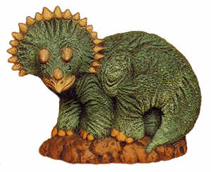 #1890 Dinosaurs - Triceratops  6""