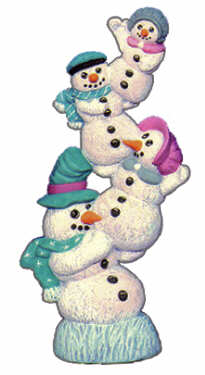 #1903 Stack of Snowmen  9