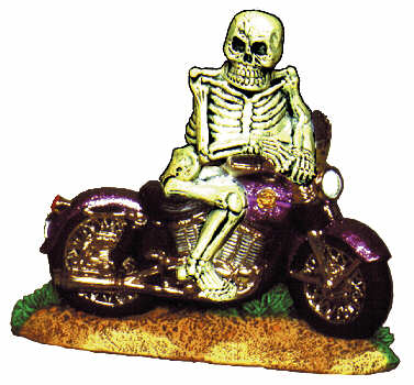 #2034 Motorcycle Skeleton  8