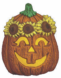 #2047 Pumpkins with Hats - Sunflower  5