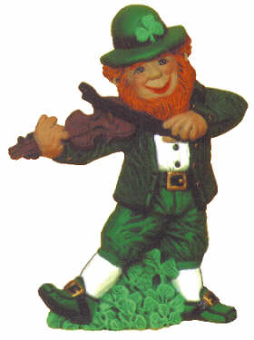 #2082 Leprechaun with Fiddle  7 1-2