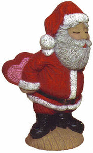 #2089 Kissing Santa, Mr  8 1-4""