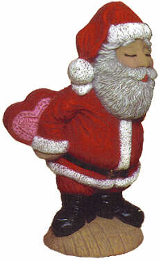 #2089 Kissing Santa, Mr  8 1-4