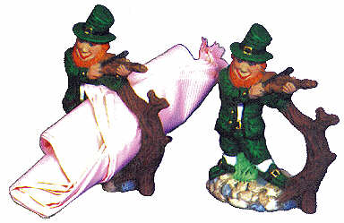 #2103 Leprechaun Napkin Rings (2 in mold)  4