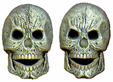 #2133 Skulls (Medium) (2 in mold) 3