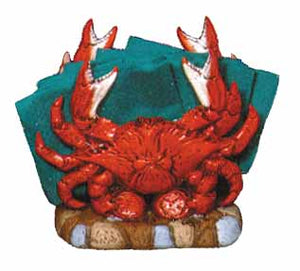#2148 Crab Napkin Holder (1 side only)