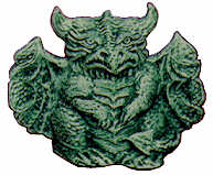 #2161 Gargoyle (Dragon) (2 in mold)  3 1-2