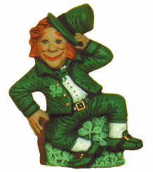 #2221 Irish Series - Leprechaun Dancing  3 1-2