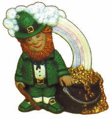 #2225 Irish Series - Leprechaun with Pot of Gold  3 1-2