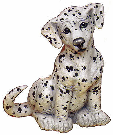 #2241 Large Dog - Dalmation  6 3-4