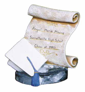 #2244 Scroll, Graduation (Large)  5 1-2