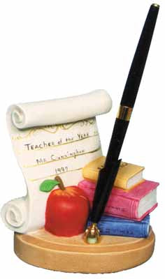 #2275 Scroll, Teacher (Large)  5 1-2